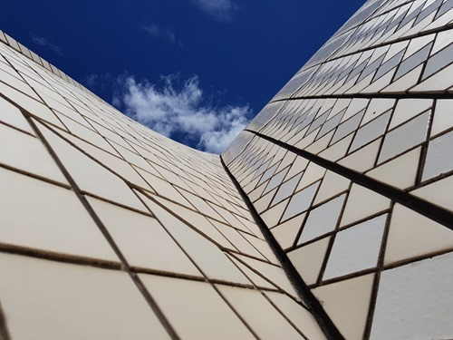 Tiles on the Sydney Opera House