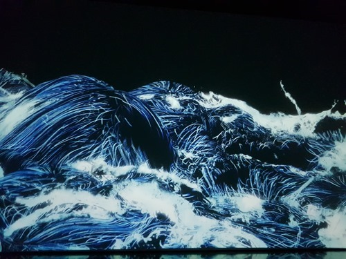 Simulated waves