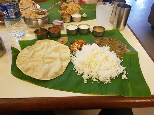 And it filled with Andhra goodness