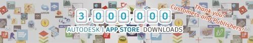3 million Autodesk App Store downloads