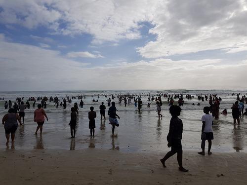 On Strand Beach