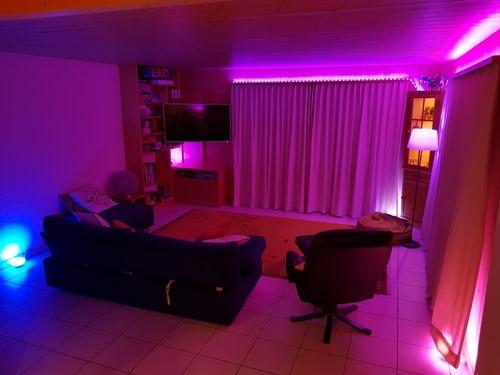 Dynamo-coloured room