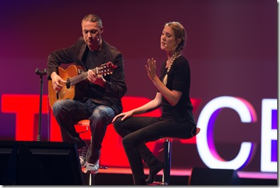 Nitin Sawhney and Nicki Wells