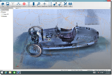 The final point cloud