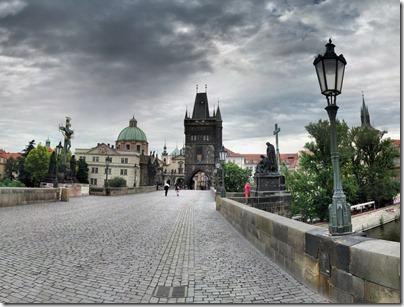 Clouds over Prague