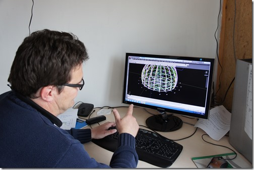 The Globe in AutoCAD