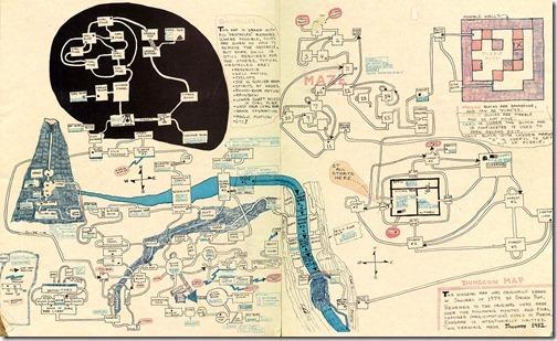 Manually mapping Zork