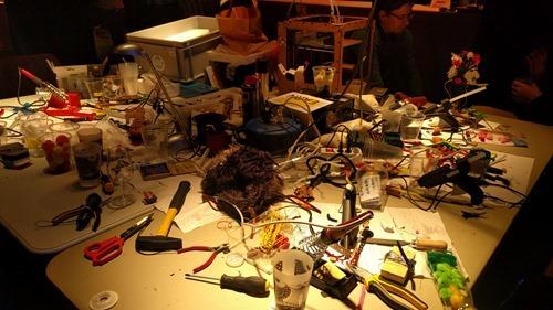 The workshop space run by Fab Lab Neuch