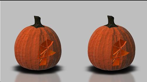 Stereo pumpkin