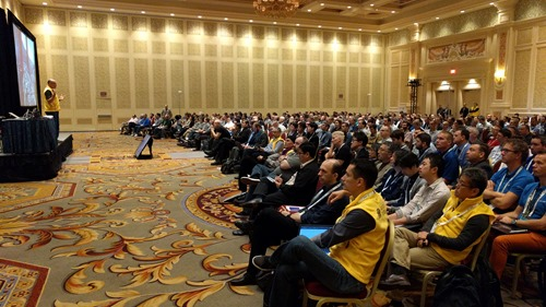 The DevDay Las Vegas crowd