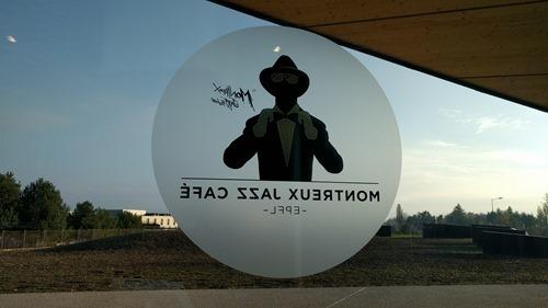 Inside the Montreux Jazz Cafe at EPFL