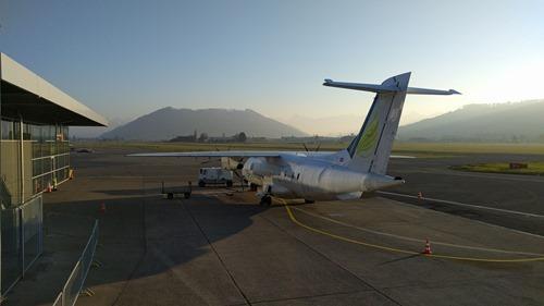 My plane from Bern-Belp