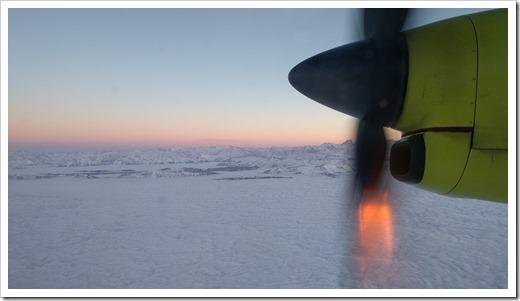 Flying to Munich