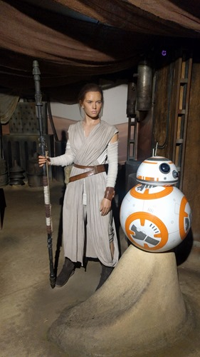 Tey and BB-8