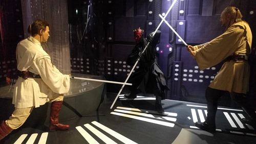 Obi-Wan, Maul and Qui-Gon