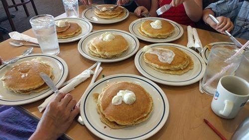 Pancakes at IHOP