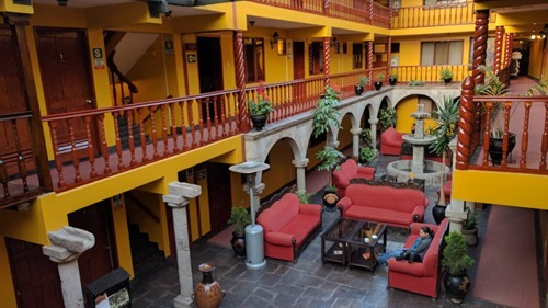 Our hotel in Cusco