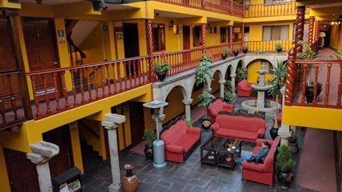 Our hotel in Cusco