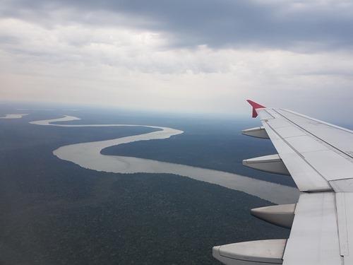 Arriving in Iguassu Falls