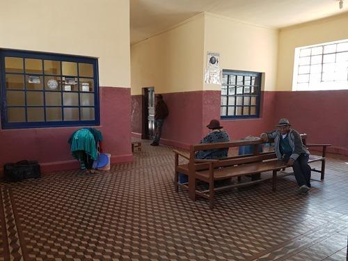 Waiting in Villazon