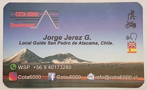 Jorge's card
