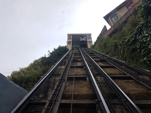 The funicular itself