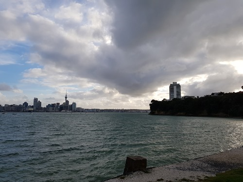 The view across from Devonport to Auckland
