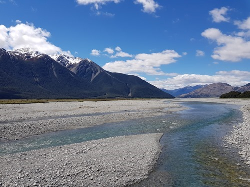 Towards Arthur's Pass