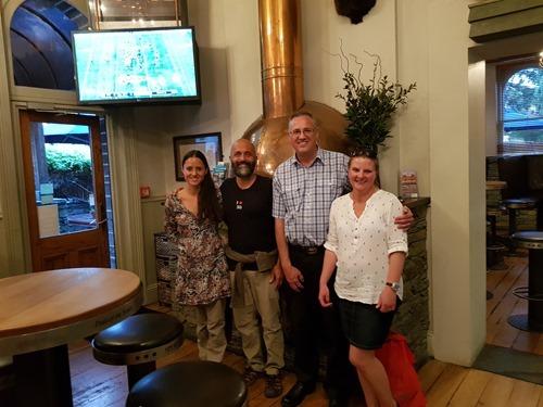 Celia, Kean, Justin and Rachel