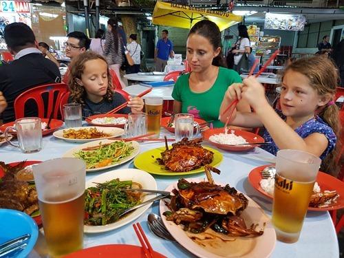 A last Malaysian dinner