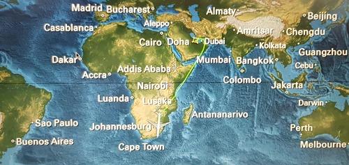 Flight to Jo'burg
