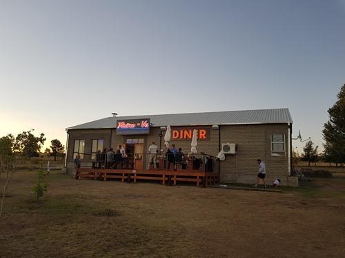 The diner next door