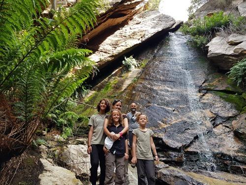 A waterfall on Meijer's Rust
