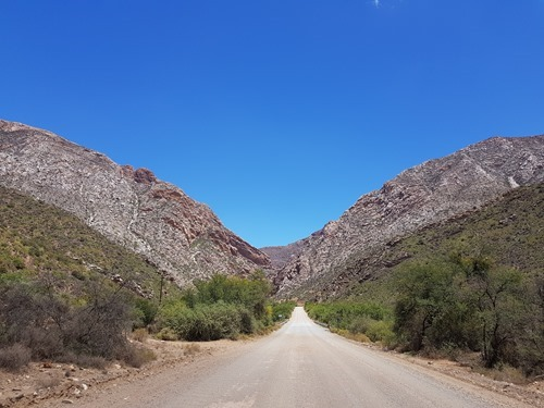 Towards the Swartberg Pass