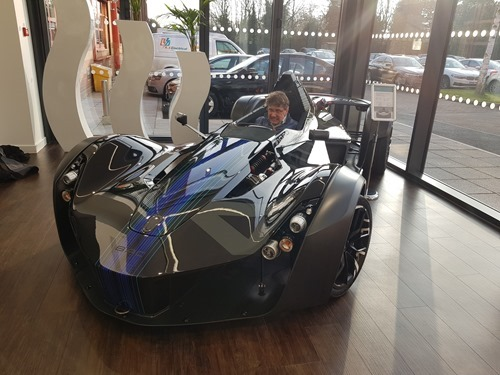 Jeff in the BAC Mono