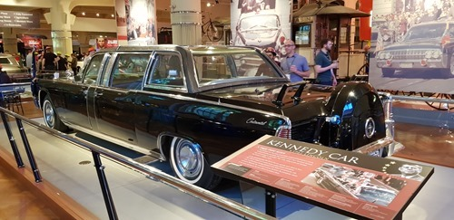 The car JFK was shot in