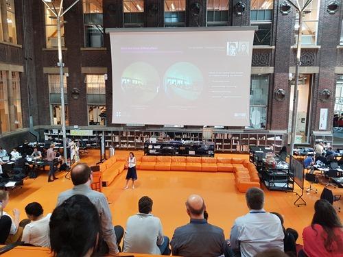 Keynote from Marilyne Andersen from EPFL