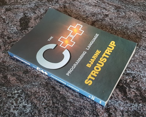 Bjarne Stroustrup's seminal programming book