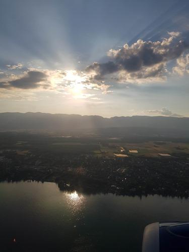 Landing back in Switzerland