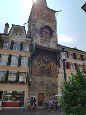 The Zeitglockenturm in Solothurn
