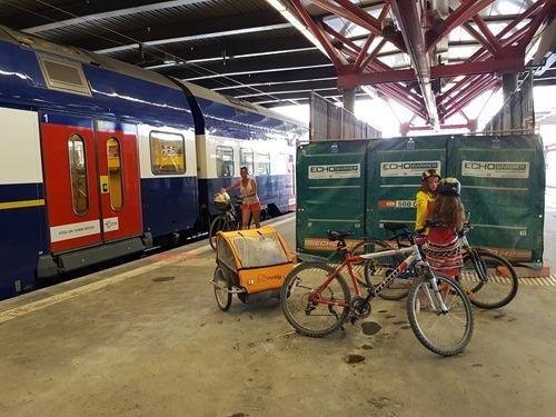 Taking the train