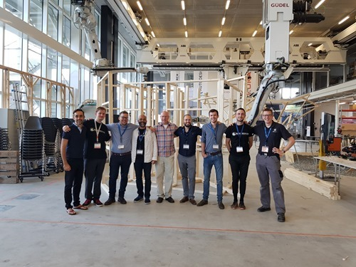 The Autodesk team (plus a few others) at Rob Arch 2018