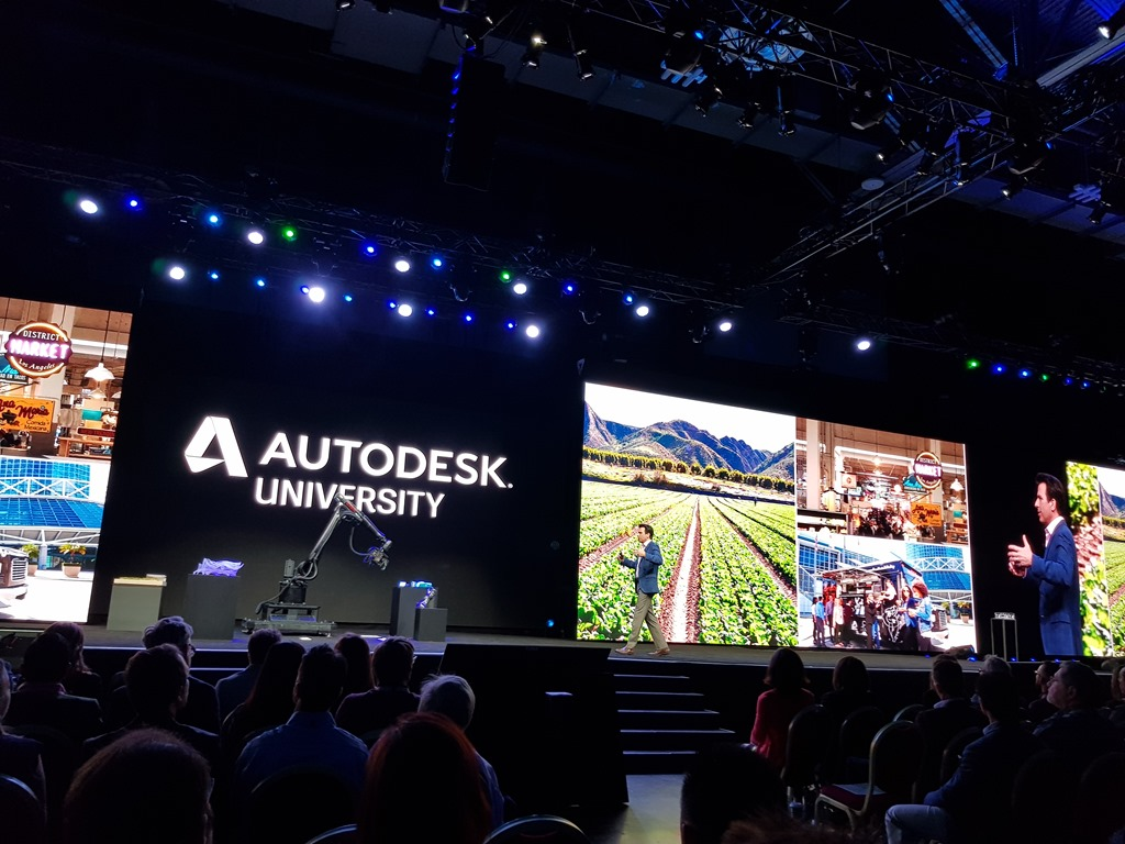 Autodesk University 2018 Through The Interface
