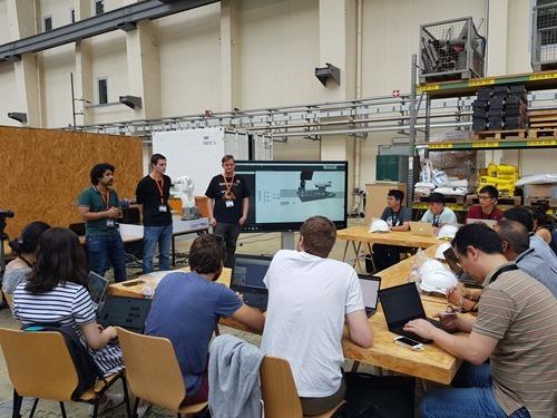 Robots in Architecture workshop