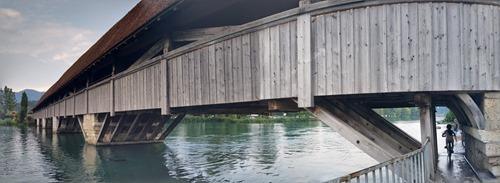 The bridge at Wangen an der Aare