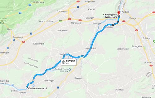 Day 4 - Bannwil to Aarburg