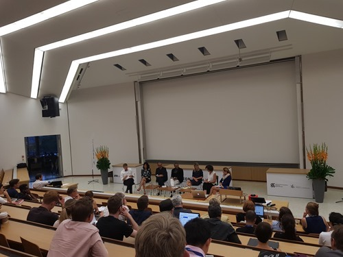 The first evening's panel discussion