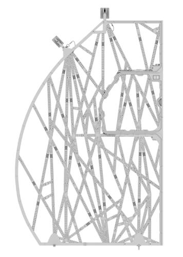 A320 bionic partition