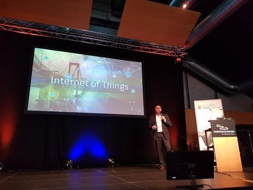 Nicolas talks IoT