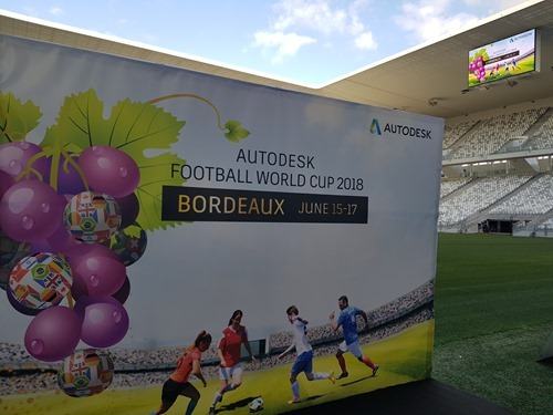 Autodesk Football World Cup 2018 in Bordeaux